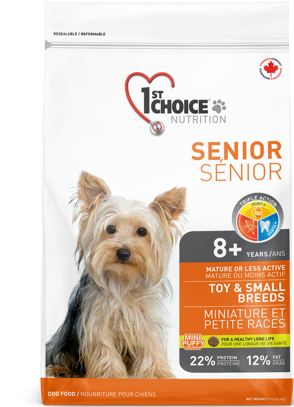 Senior - Toy and Small Breeds Kibble 7kg