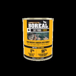 Boréal Cobb Chicken / Chicken Liver Formula Canned Cat Food 369g