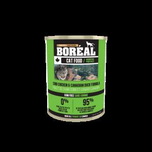 Boréal Cobb Chicken / Canadian Duck Formula Canned Cat Food 369g