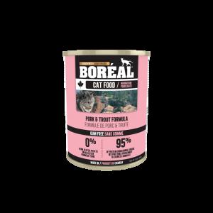 Boréal Pork And Trout Formula Canned Cat 369g