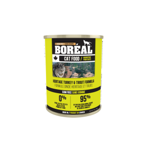 Boréal Heritage Turkey And Trout Formula Canned Cat 369g