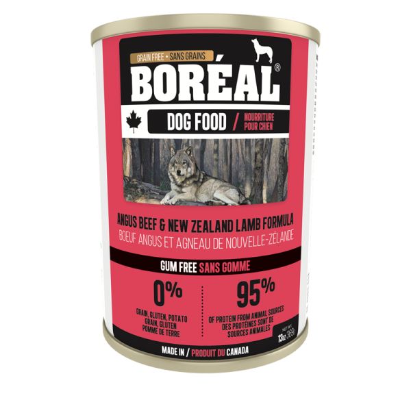Boréal  Angus    Beef New Zealand Lamb Formula Canned Dog Food 369 G