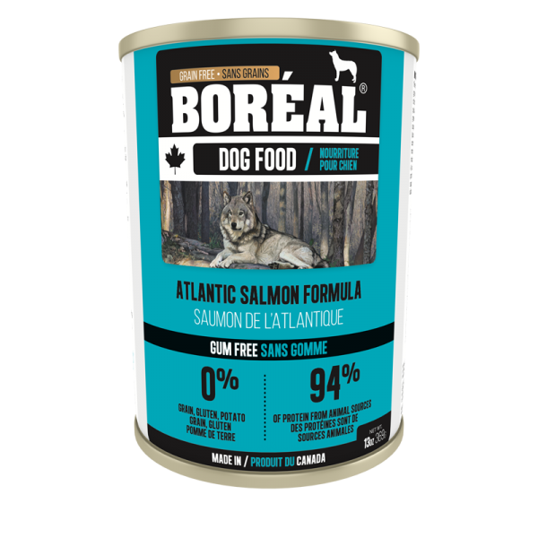 Boréal Atlantic Salmon Formula Canned Dog Food 369 G