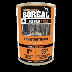 Boréal Heritage Turkey Formula Canned Dog Food 369 G