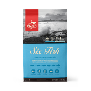ORIJEN Six Fish dog food - Biologically Appropriate - 11.4kg