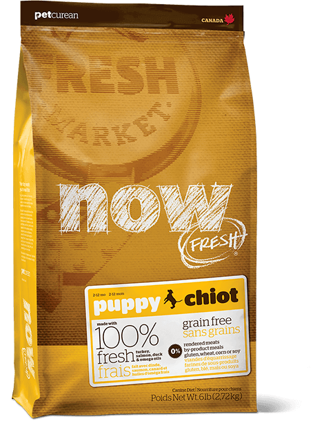 Now Fresh Grain Free Puppy Dog Food Recipe