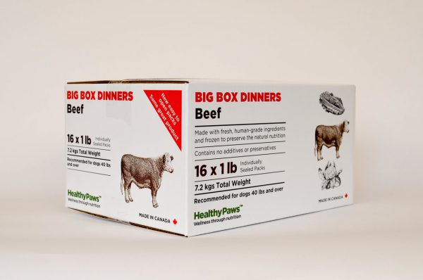 Big Box Dinner Beef