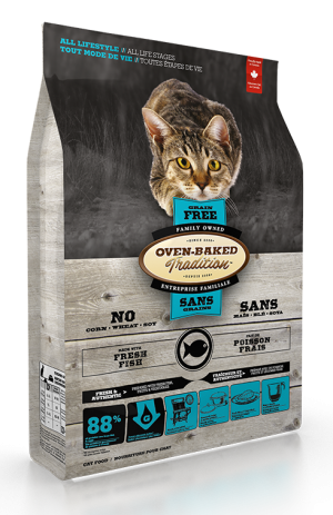 Oven Baked Tradition Fish Formula Cat Food 10lb