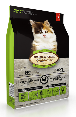 Oven Baked Tradition Kitten Food 5lb