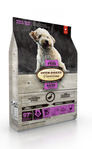 Oven Baked Tradition Grain Free Small Breed Adult Food 5lb