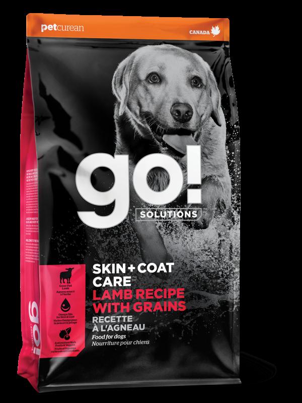 GO! SKIN + COAT CARE Lamb Recipe for dogs  25 lb