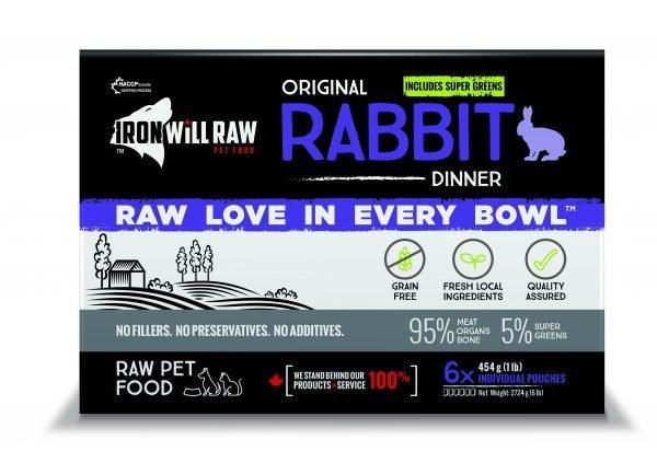 Original Rabbit Dinner 6lb