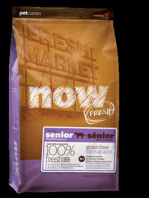 NOW FRESH Grain Free Senior Recipe for cats 16 lb