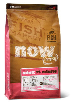 NOW FRESH Grain Free Fish Adult Recipe for dogs 25 lb