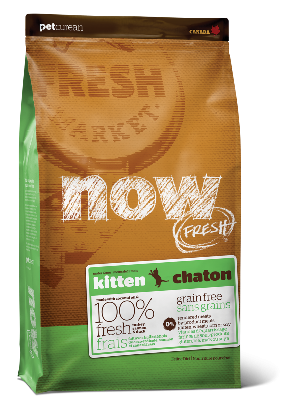 NOW FRESH Grain Free Kitten Recipe 8 lb
