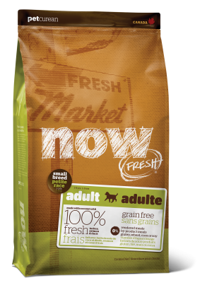 NOW FRESH Grain Free Small Breed Adult Recipe for dogs  25 lb
