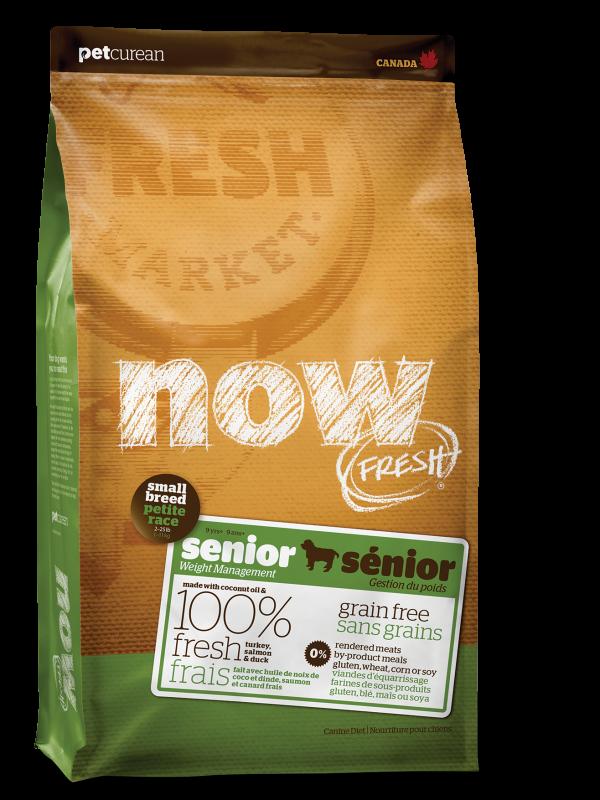 NOW FRESH Grain Free Small Breed Senior Recipe for dogs  25 lb