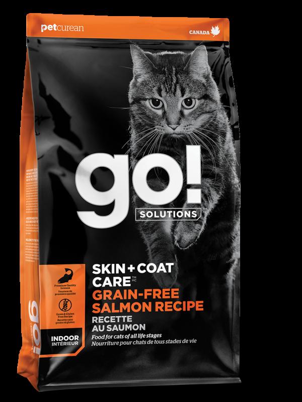 GO! SKIN + COAT CARE Grain Free Salmon Recipe for cats 16 lb
