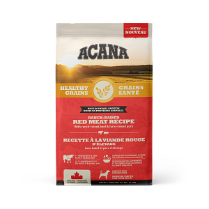 ACANA Healthy Grains Ranch Raised Red Meat Recipe - 10.2 kg