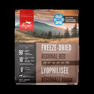ORIJEN Regional Red freeze-dried dog food - Biologically Appropriate - 454g
